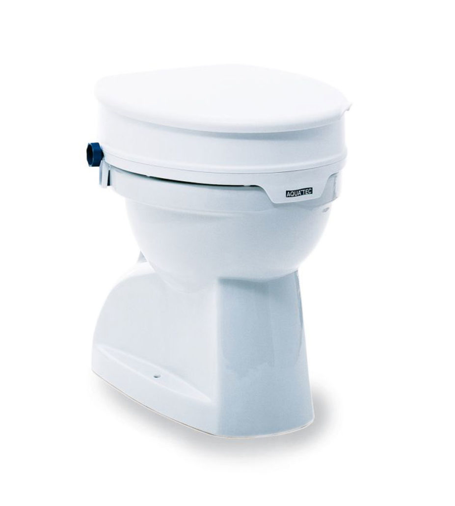 Toilettensitzerhöhung Aquatec bis 225 kg belastbar