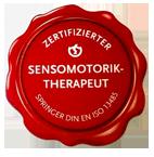 Siegel zertifizierter Sensomotorik-Therapeut