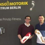 Markus und Florian in Ausbildung