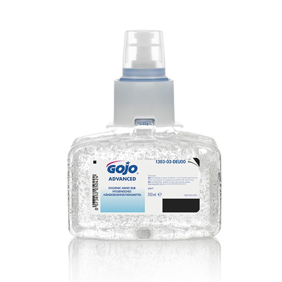 GOJO Advanced Händedesinfektionsmittel Nachfüllpackung 700ml für berührungsloser Spender LTX 700ml