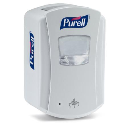 weisser Spender 700ml Fassungsvermögen für Nachfüllflasche 700ml Händedesinfektionsmittel Purell Advanced