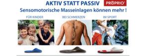 Aktiv statt passiv: Sensomotorische Einlagen für Sportler, Kinder, Schmerzpatienten