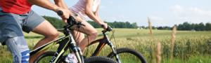 Bauerfeind Softec Genu beim Biking