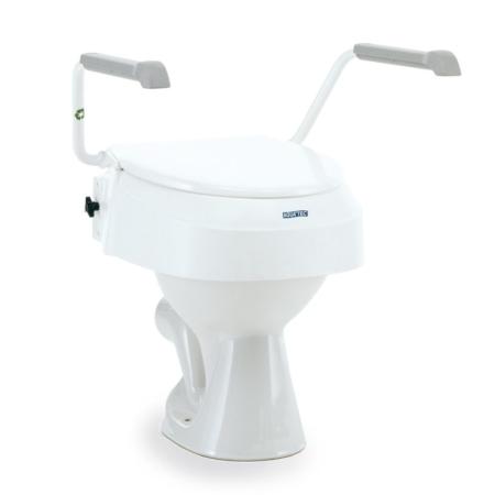 Toilettensitzerhöhung mit Armlehnen Aquatec AT 900