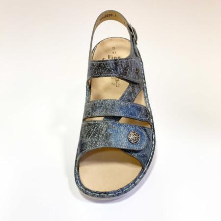 Modische Damen Sandale mit ausgezeichneter Weiten-Verstellbarkeit