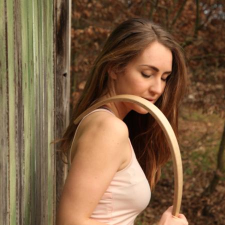 Holz MassageFee gross zur Schulter-Nackenmassage