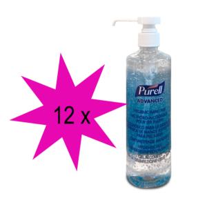Desinfektionsmittel Purell Advanced 500ml Flasche