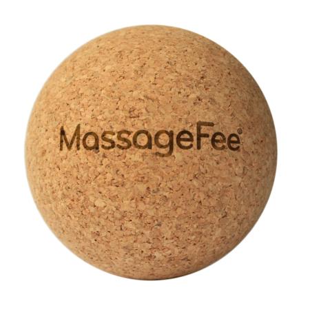 Massagefee Korkball 6cm zur Faszientherapie