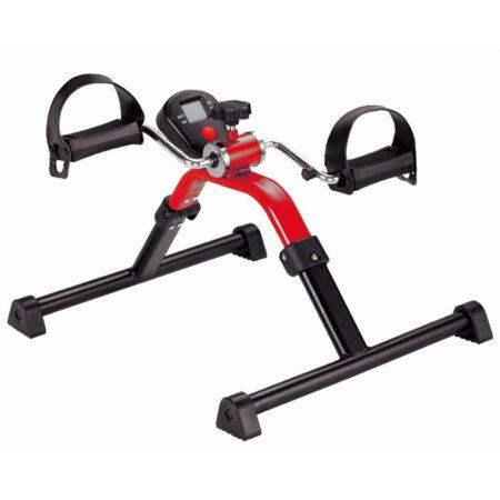 Pedaltrainer mit Digitalanzeige rot