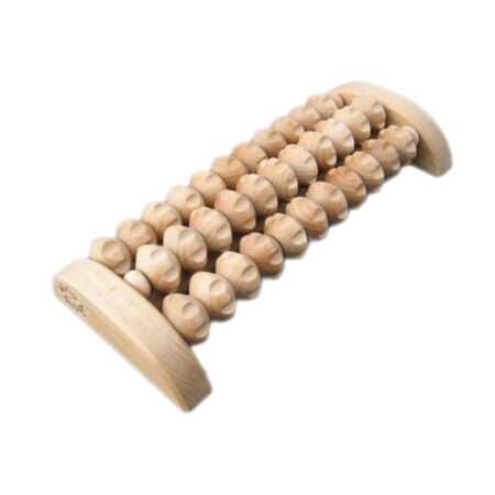Fussmassage Roller Holz