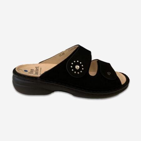 FinnComfort Beverly-S nubuk schwarz
