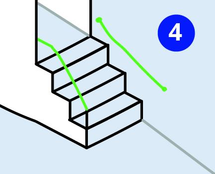 Sturzprophylaxe: Handlauf verwenden und so sturzsicher über die Treppe