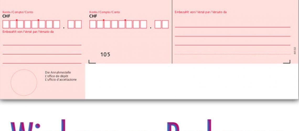 Rechnung mit Einzahlungsschein wird zu QR-Rechnung